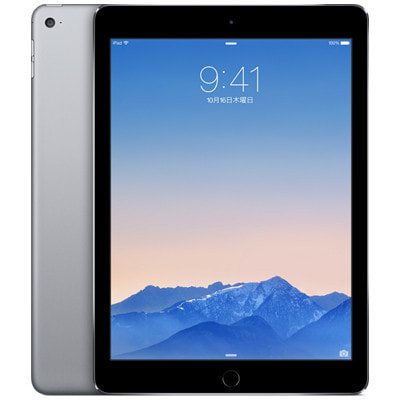 イオシス|【第2世代】SoftBank iPad Air2 Wi-Fi+Cellular 16GB スペースグレイ MGGX2J/A A1567