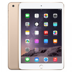 【第3世代】iPad mini3 Wi-Fi+Cellular 128GB ゴールド MGYU2J/A A1600【国内版SIMフリー】
