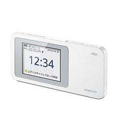 【au版】Speed Wi-Fi NEXT W01 HWD31MWA WHITE