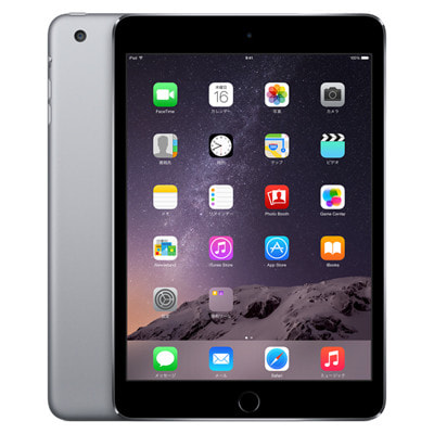 イオシス|【第3世代】au iPad mini3 Wi-Fi+Cellular 16GB スペースグレイ MGHV2J/A A1600
