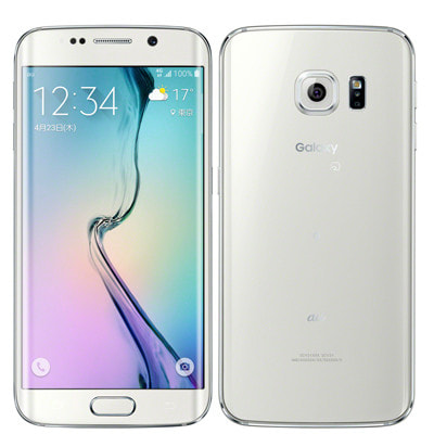 イオシス|au Galaxy S6 edge SCV31 32GB White Pearl