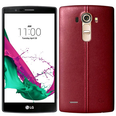 イオシス|LG G4 H815T LTE [32GB Genuine Leather Red 海外版 SIMフリー]