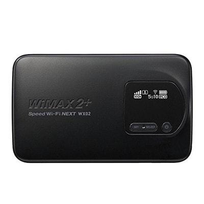 イオシス 【UQWiMAX版】Speed Wi-Fi NEXT WX02 NAD32MKU マットブラック