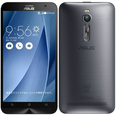 イオシス|ASUS ZenFone2 (ZE551ML) 64GB Silver 【RAM4GB 国内版 SIMフリー】