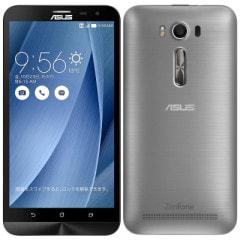 Asus ZenFone2 Laser 6.0 Dual ZE601KL Silver【RAM3GB/ROM32GB/台湾版SIMフリー】