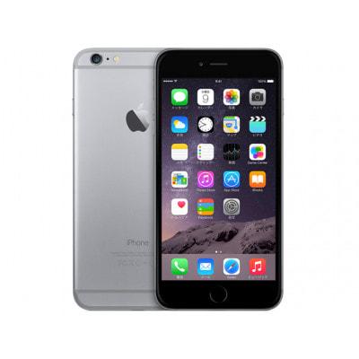 イオシス SoftBank iPhone6 Plus 64GB A1524 (MGAH2J/A) スペースグレイ