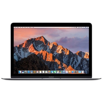 イオシス|MacBook MLH72J/A Early 2016 スペースグレイ 【Core m3(1.1GHz)/12inch/8GB/256GB SSD】