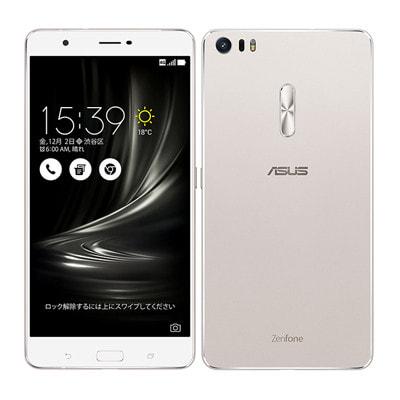 イオシス|ASUS ZenFone3 Ultra Dual SIM ZU680KL 64GB Glacier Silver 【海外版 SIMフリー】