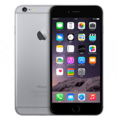 au iPhone6 Plus 16GB A1524 (MGA82J/A) スペースグレイ