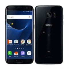 【SIMロック解除済】au GALAXY S7 edge SCV33 Black Onyx