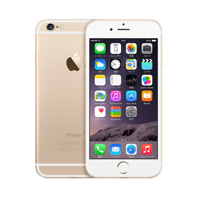 イオシス docomo iPhone6 64GB A1586 (NG4J2J/A) ゴールド