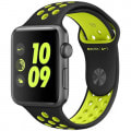 Apple Watch Series2 Nike+ 42mm MP0L2J/A  [ブラック/ボルトNikeスポーツバンド]