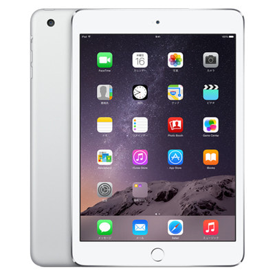 イオシス|au iPad mini3 Wi-Fi Cellular (MGHW2J/A) 16GB シルバー