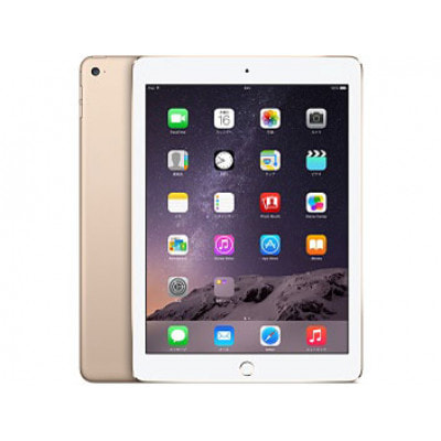 イオシス|au iPad Air2 Wi-Fi Cellular MH172J/A 64GB ゴールド