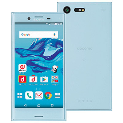 イオシス docomo Xperia X Compact SO-02J Mist Blue