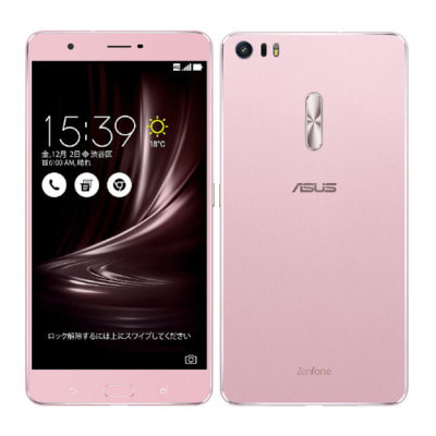 イオシス|ASUS ZenFone3 Ultra Dual SIM ZU680KL-RG32S4 32GB Rose Gold 【国内版 SIMフリー】