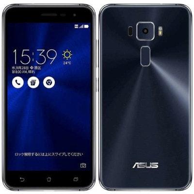 イオシス|ASUS ZenFone3 5.2 Dual SIM ZE520KL Black 【32GB 国内版 SIMフリー】