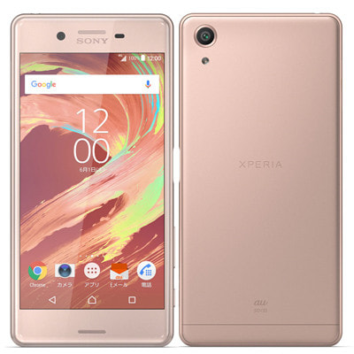 イオシス|au Xperia X Performance SOV33 Rose Gold