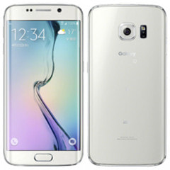 au Galaxy S6 edge SCV31 64GB White Pearl