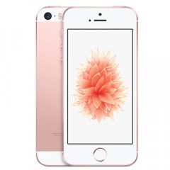 【SIMロック解除済】au iPhoneSE 16GB A1723 (MLXN2J/A) ローズゴールド