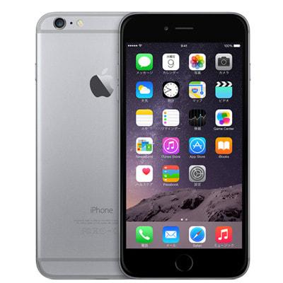 イオシス au iPhone6 Plus 64GB A1524 (NGAH2J/A) スペースグレイ
