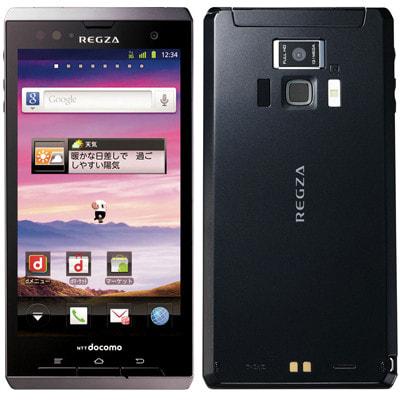イオシス|【本体未使用品】docomo with series REGZA Phone T-01D ブラック