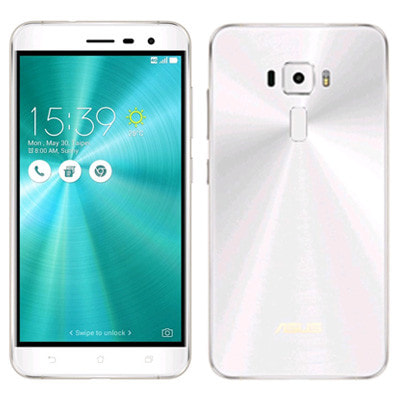 イオシス|ASUS ZenFone3 5.5 Dual SIM ZE552KL Moonlight White 【64GB 国内版 SIMフリー】
