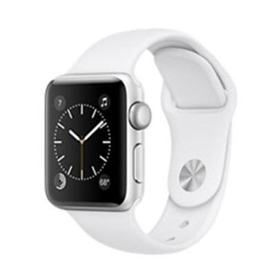 イオシス|Apple Watch Series2 38mm (MNRQ2J/A)  [シルバーアルミニウム/ホワイトスポーツバンド]