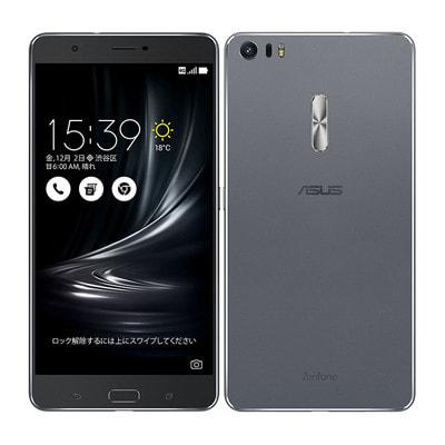 イオシス|ASUS ZenFone3 Ultra Dual SIM ZU680KL-GY32S4 32GB  Gray 【国内版 SIMフリー】