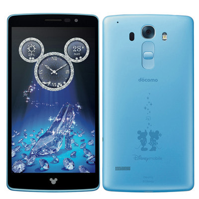 イオシス|Disney Mobile on docomo DM-01G Powder Blue