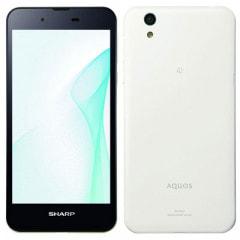 AQUOS SH-M04-A ホワイト