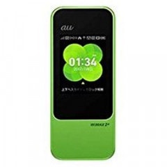 【au版】Speed Wi-Fi NEXT W04 HWD35SGU GREEN