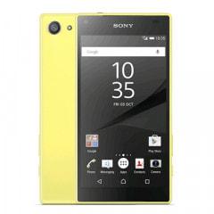 SONY Sony Xperia Z5 Compact E5823 LTE [Yellow 32GB 海外版 SIMフリー]