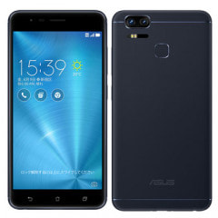 ASUS ZenFone Zoom S ZE553KL Navy Black 【64GB 国内版 SIMフリー】