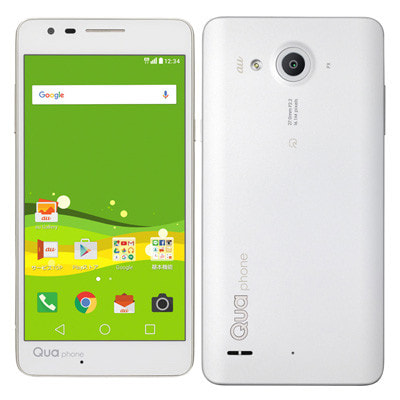 イオシス au Qua phone PX LGV33SWA White