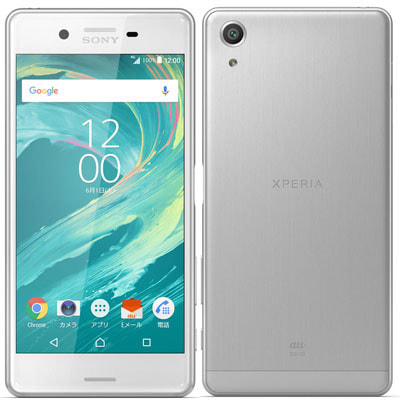 イオシス|【SIMロック解除済】au Xperia X Performance SOV33 White