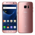 【SIMロック解除済】au GALAXY S7 edge SCV33 Pink Gold