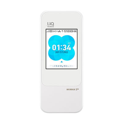 イオシス 【UQWiMAX版】Speed Wi-Fi NEXT W04 HWD35MWU WHITE