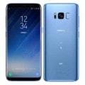 【SIMロック解除済】au Galaxy S8 SCV36 Coral Blue