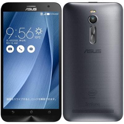 イオシス|ASUS ZenFone2 (ZE551ML-GY64S4) 64GB Silver【RAM4GB 国内版 SIMフリー】