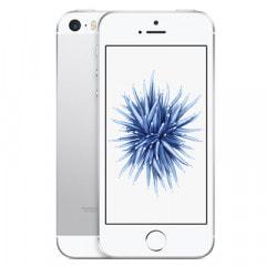 【SIMロック解除済】au iPhoneSE 16GB A1723 (MLLP2J/A) シルバー画像