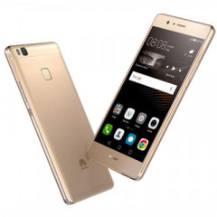 UQ mobile Huawei P9 lite PREMIUM VNS-L52 Gold
