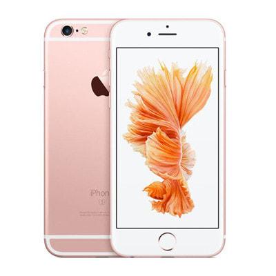 イオシス|【SIMロック解除済】au iPhone6s 128GB A1688 (MKQW2J/A) ローズゴールド