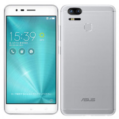 ASUS ZenFone Zoom S ZE553KL SILVER 【64GB 国内版 SIMフリー】