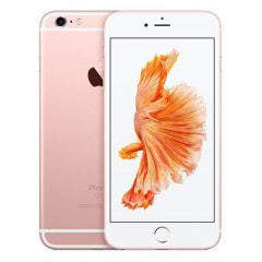 【SIMロック解除済】au iPhone6s Plus 64GB A1687 (MKU92J/A) ローズゴールド
