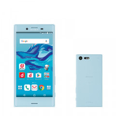 【SIMロック解除済】docomo Xperia X Compact SO-02J Mist Blue