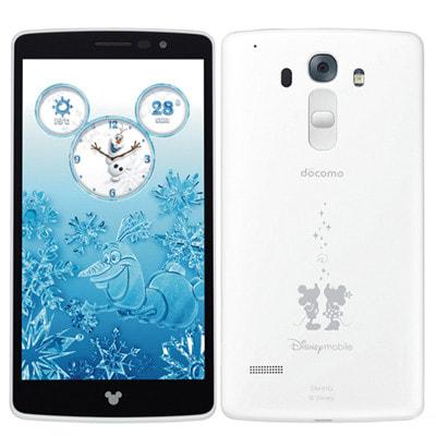 イオシス Disney Mobile on docomo DM-01G Pure White