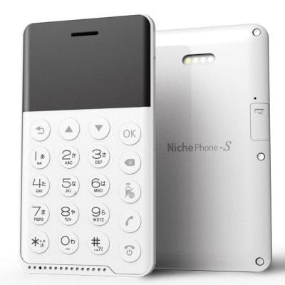 イオシス|NichePhone-S MOB-N17-01【ホワイト】