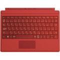 Surface3 タイプカバー ブライト レッド A7Z-00070