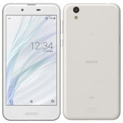 【SIMロック解除済】 UQ mobile AQUOS sense SHV40 Silky White
